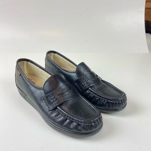 SAS Leather Penny Loafers Comfort Slip On Shoes